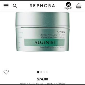 Algenist Genius Anti-Aging Eye Cream Full Size